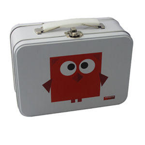 Cute Image Printed Lunch Tin Box