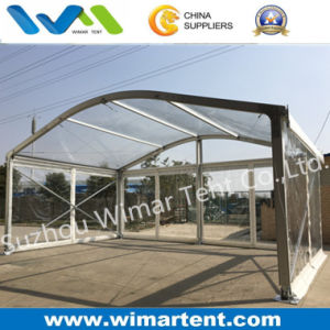 Gable Width 8m Clear PVC Dome Roof Tent pictures & photos