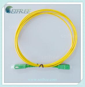 Single-Mode Fibre Optic Patchcord Sc/APC pictures & photos