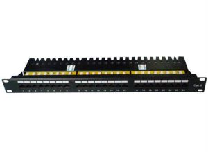 CAT6 UTP Patch Panel 24 Ports Krone IDC Drawer Type pictures & photos