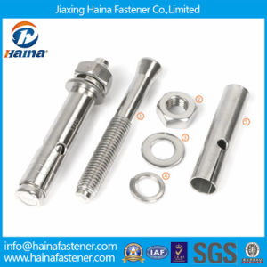 for Wholesale in Stock Stainless Steel Sleeve Anchor with Nut and Washer in All Size pictures & photos