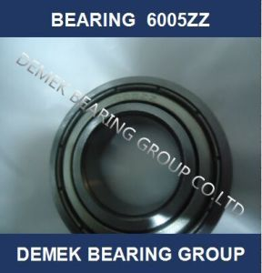 China Deep Groove Ball Bearing 6005 Zz pictures & photos