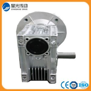 China Motorvario Equivalent Silver Color Worm Reduction Gear Box pictures & photos