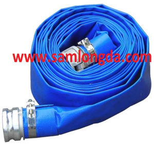 16 Inch PVC Layflat Discharge Water Hose pictures & photos
