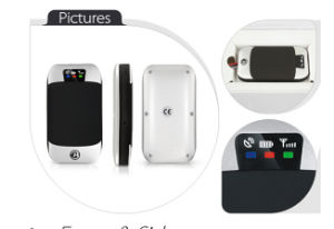 Car GPS Tracking Device Portable Mini Vehicle Motor GPS Tracker Tk303G pictures & photos