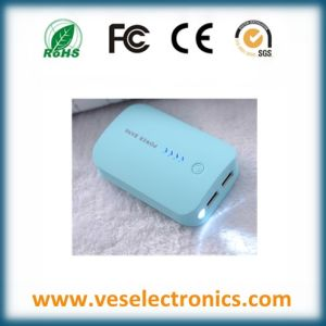 New ABS Mobile Power Bank 5000mAh Rechargeable Battery Portable Charger pictures & photos