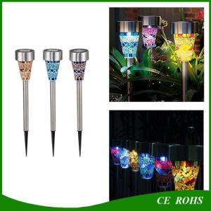 Light Control IP44 Garden Decoration Lawn Light Solar Solar Landscape Light Lawn Lamp Set with Spike pictures & photos