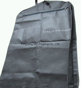 Recycled Foldable Quilted PP Non Woven Garment Bag Suit Cover pictures & photos