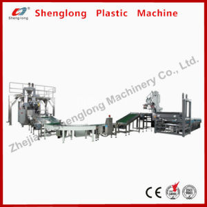 Automatic Woven Paper Bag Filling Sealing /Sewing Stacking Packing Line pictures & photos