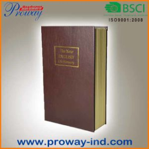High Quality Home PU Book Safe Box pictures & photos