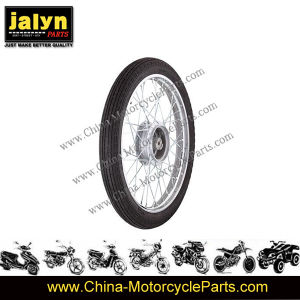 Motorcycle Spare Part Motorcycle Front Wheel for Ax-100 pictures & photos