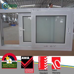 Sound Insulating UPVC Sliding Double Glass Windows pictures & photos