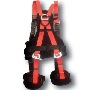 Industrial Full-Body Safety Harness with Back Pad pictures & photos