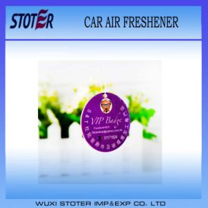 Wholesale Cheap Custom Hanging Paper Car Air Freshener pictures & photos