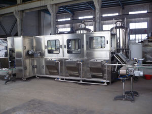 Full Automatic 300b/H Mineral Water 20L Bottling Line pictures & photos
