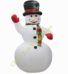 Christmas Inflatable Snowman with Blower pictures & photos