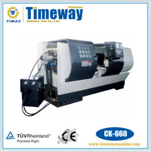300-660mm Swing Flat Bed CNC Lathe Machine (CK series) pictures & photos