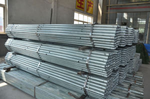 Steel Structure Building Materials! Mild Steel Gi Pipe Best Supplier Schedule 40 Galvanized Steel Pipe pictures & photos