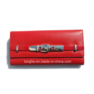 Newest Design Trendy Promotional Attractive Red Purse (ZX10133) pictures & photos