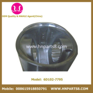 Komatsu 6D102 S6d102 6738-31-2111 6738-31-2110 Cylinder Engine Piston pictures & photos