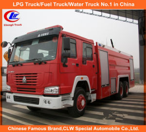 Heavy Duty Sinotruk Sino HOWO Water Foam Tanker Rescue Fire Fighting Trucks 12, 000 Liters for Sale pictures & photos