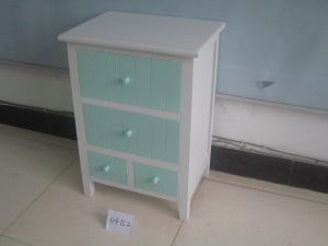 Fresh Simple Style Cabinet with 4 Drawers (FCJ04152)