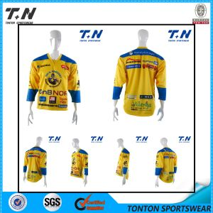 Wholesale Blank Reversible Sublimation Online Cheap Custom Ice Hockey Jersey pictures & photos