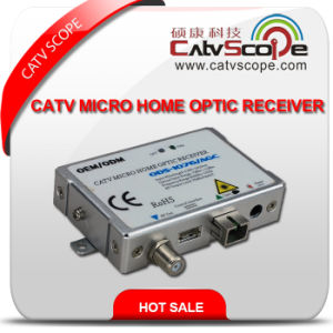 Professional Supplier High Performance CATV FTTH Micro Home Optic Receiver Node