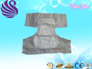 Cloth-Like and Magic Tape Adult Diaper for Old People pictures & photos