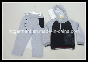 Kid Sport Wear Baby Clothes Hoodie Suit for Boy pictures & photos