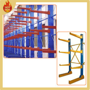 Heavy Duty Adjustable Warehouse Metal Galvanized Cantilever Rack pictures & photos