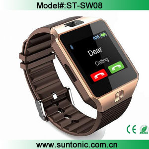Dz09 Bluetooth Smartwatch with Pedometer Anti-Lost Camera for Android Smartphone
