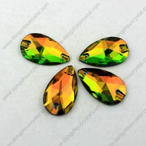 Pujiang Lead Free Machine Cut Decorative Flat-Back Loose Wholesale Sew on Beads for Wedding Dress pictures & photos