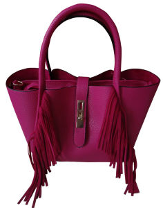 Popular Latest Fashion Women′s Leather Bag Wholesale pictures & photos