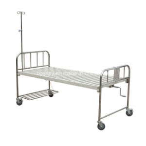 One Crank Manual Hospital Bed (BS-816) pictures & photos
