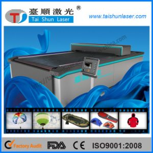 80W Fabric CO2 Laser Cutting Machine pictures & photos