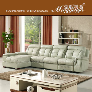 Top Grain Leather Storage Sofa (623#)