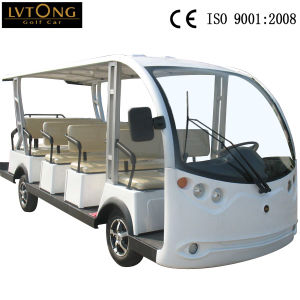 14 Seat Electric Sightseeing Vehicle pictures & photos