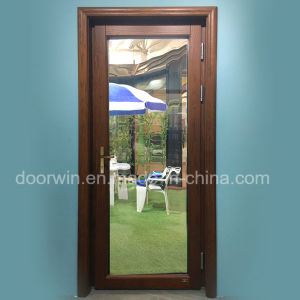 American and European Style Solid Oak Wood Entrance Door pictures & photos