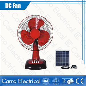 12V 12 Inch Plastic Solar DC Table Fan/ Table Fans Price (DC-12V12G)