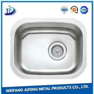 Precision CNC Metal Stamping Kitchen Ware Single Stainless Steel Sink pictures & photos