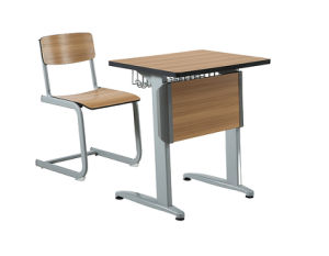 Student Desks and Chair Double Seat pictures & photos
