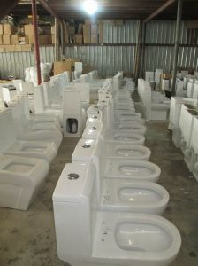 Siphonic Water Saving Ceramic Toilet CE-T207 pictures & photos