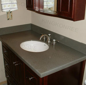 Solid Surface Commercial Bathroom Grantie Countertop pictures & photos