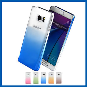 Sky Blue Gradual Change Hard Case for Samsung Note 5 pictures & photos