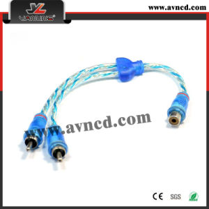 Factory High Performance Audio Wire Y-RCA Cable (Y-025)