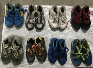 Big Size Man & Lady Sport Used Shoes, Leather Shoes, Leasure shoes for African (FCD-005) pictures & photos