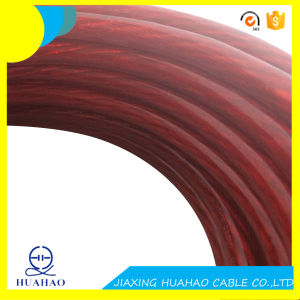 High Quality 4AWG Car Power Cable with Transparent PVC Sheath pictures & photos