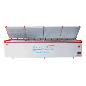 Large Capacity Top Open Four Doors Direct Cooling Chest Freezer pictures & photos