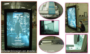 Aluminum Material Snap Frame LED Lighting Advertising Light Box pictures & photos